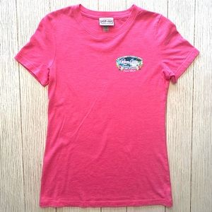 Ron Jon Surf Shop pink tee